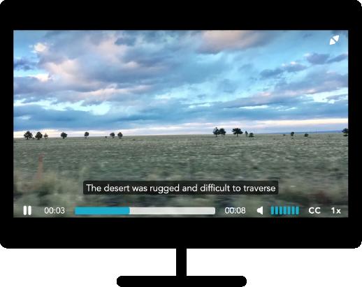 Captioning in Video
